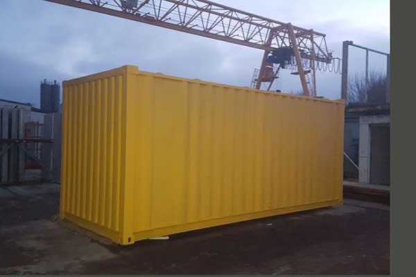Grundbeschichtung Container